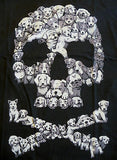 TeeFury T-Shirt - Skull Dogs Cute Puppies