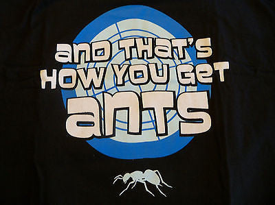 TeeFury T-Shirt - Archer - And That's How You Get Ants - Adult