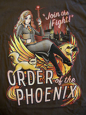 TeeFury T-Shirt - Harry Potter - Hermione Granger Order Of The Phoenix - New L