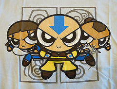 RIPT T-Shirt - Avatar - Power Puff Girls - Adult S