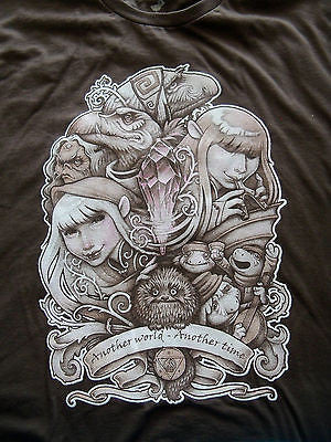 TeeFury - T-Shirt - Graphic Tee - Dark Crystal - In Another World -  Adult