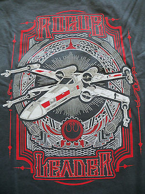 TeeFury T-Shirt -  Star Wars - Rogue Leader - New Adult XL Gray