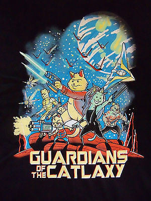 TeeFury T-Shirt - Guardians of the Catlaxy - Galaxy Thundercats