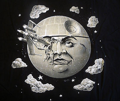 TeeFury T-Shirt - Star Wars - That's No Trip To The Moon - New Adult XL