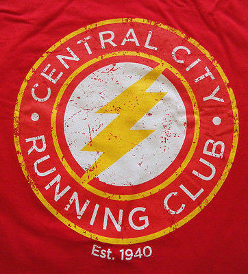 TeeFury Graphic Tee T-Shirt - The Flash Central City Running Club