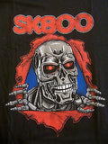 TeeFury T-Shirt - SK800 Terminator Bone Ripper - New - Adult L