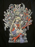 TeeFury T-Shirt - Throne Of Magic - Sailor Moon - New Adult S