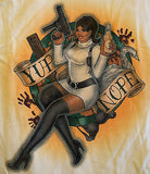 TeeFury T-Shirt -  Archer - Yep Nope - New Adult L