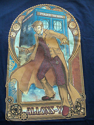 TeeFury T-Shirt - Doctor Who - Allons-Y - New Adult XL