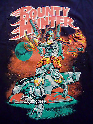 TeeFury T-Shirt - Bounty Hunter - Star Wars - Boba Fett - New Adult XL