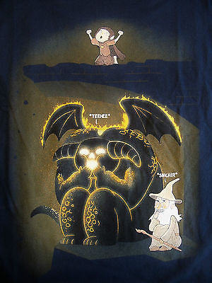 TeeFury T-Shirt - Lord Of The Rings - Wizardly Shenanigans - New Adult L
