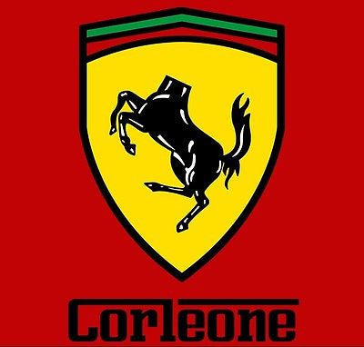 RIPT T-Shirt - Godfather - Scuderia Corleone Ferrari - Adult
