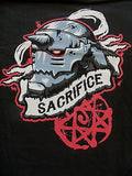 TeeFury T-Shirt - Full Metal Alchemist - Sacrifice - New Adult L