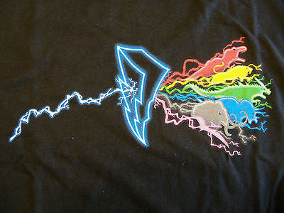 RIPT T-Shirt - Pink Floyd Dark Side Of The Power Ranger - Adult XL