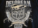 TeeFury T-Shirt - Delorean - Back To The Future - New Adult S