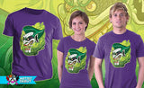 TeeFury T-Shirt - Batman - Grinning Oni Joker - New - Adult L