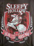 TeeFury T-Shirt - Sleepy Hollow Headless Horseman Boston Lager Beer - New XL