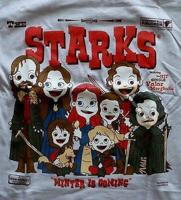 TeeFury - T-Shirt - Game Of Thrones The Starks Winter is Coming - Youth M