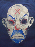 TeeFury Graphic Tee - Joker Clown Mask From Batman Dark Knight - New Adult S