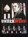 TeeFury T-Shirt - One Nation UnderWood - House Of Cards - New Adult XXL