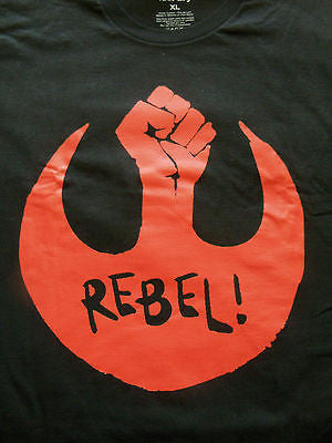 TeeFury T-Shirt - Star Wars - Rebel - New Adult XL