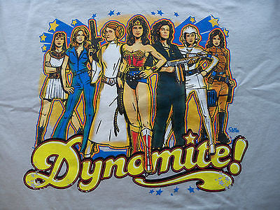 TeeFury T-Shirt - Dynomite! - Female Heroes of the 70's - New XL