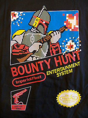 RIPT T-Shirt - NES Bounty Hunt - Bobba Fett Star Wars - Adult XL