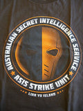 TeeFury T-Shirt - DC - Deathstroke - ASIS Strike Unit - New Adult S
