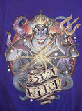 TeeFury T-Shirt - Little Mermaid - Sea Witch - New - Adult L