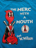 TeeFury - T-Shirt - Deadpool Dr. Seuss - Merc with a Mouth - New - Adult S