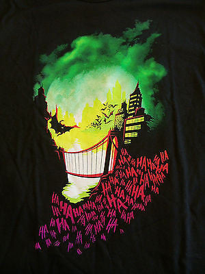 TeeFury T-Shirt - Batman - Joker - Gotham - New Adult XL
