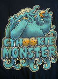 TeeFury T-Shirt - Cthookie Monster - Cookie Monster Cthulhu - New Adult XXL