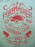 TeeFury T-Shirt - Pokemaster Training Club - Pokemon - New Adult L