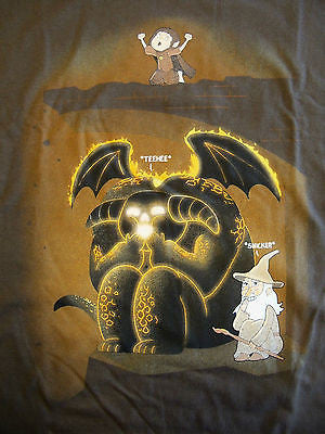 TeeFury T-Shirt - Lord Of The Rings - Wizardly Shenanigans - New Adult XL