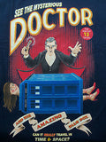 TeeFury T-Shirt - Dr Who Mysterious Doctor Magician - New Adult L