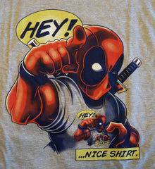 RIPT T-Shirt - Deadpool Hey! Nice Shirt - Adult XL