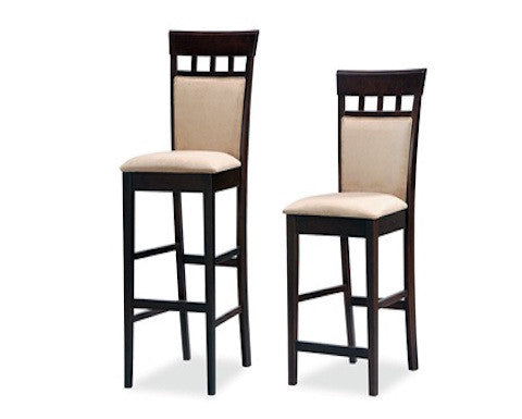 COASTER 100219 CUSHION BACK BARSTOOL