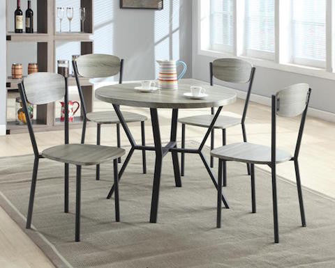 Blake 5pc Dining Set #1230 CR