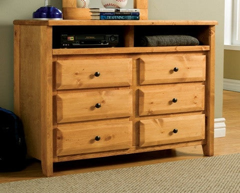 COASTER 460143 WRANGLE COLLECTION MEDIA DRESSER