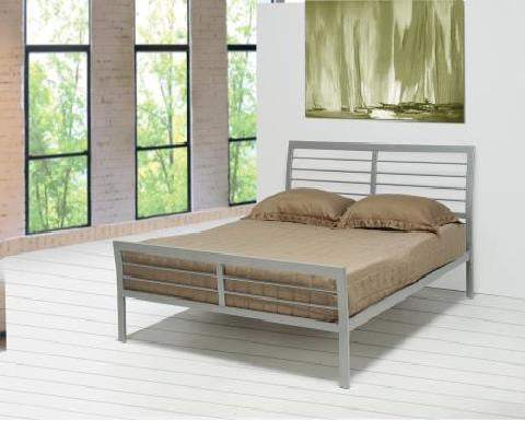 300201 Queen Metal Bed  By Coaster