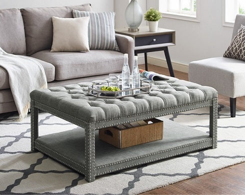 Mansfield Cocktail Ottoman Cro 4250GY