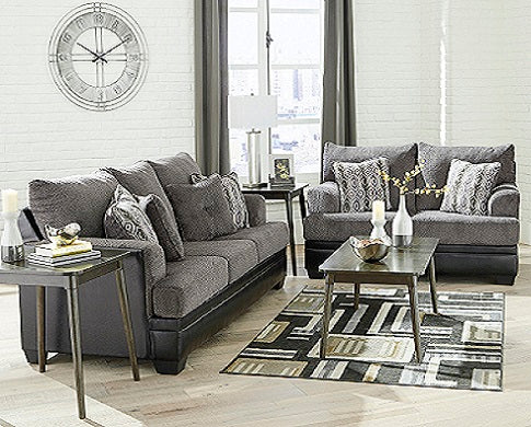 Millingar Sofa and love seat Ash 782