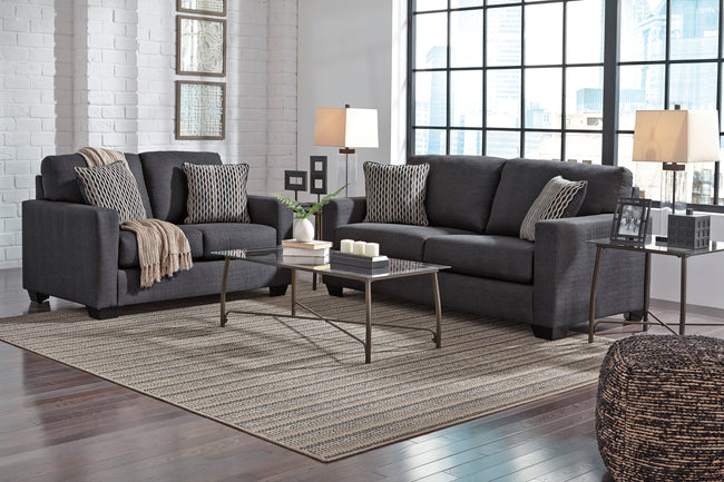 Bavello Sofa & Loveseat #973 ASH Set