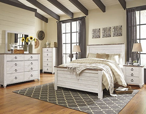 Willowton Bed Collection #B267 ASH