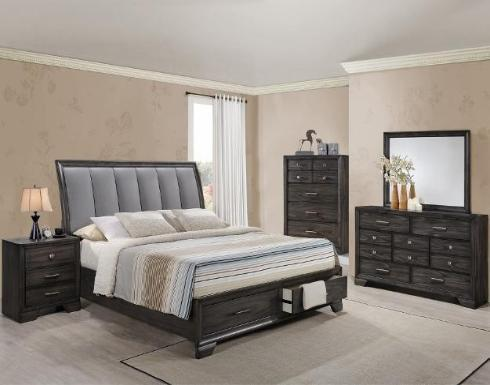 Crownmark Jaymes Bedroom Set B6580
