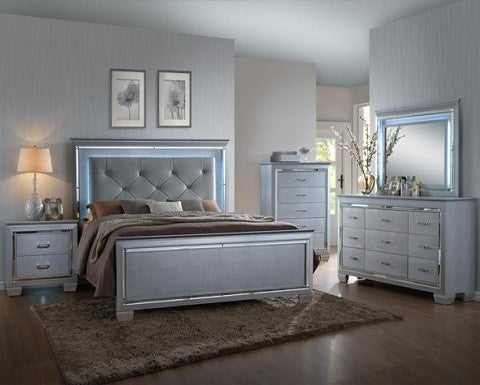 LED LIGHTING BEDROOM SET (B7100) – Instock Furniture
