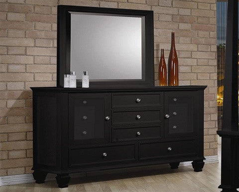 201323 Sandy Beach Black Dresser By Coaster