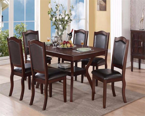 POUNDEX F2290 7 PIECE DINING SET