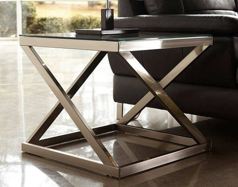 (Ash T136-2) Modern Coylin End Table