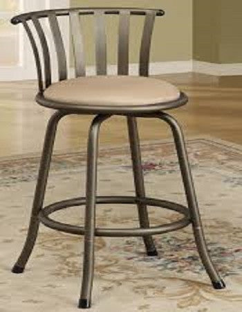 (F1431) BROWN BARSTOOL